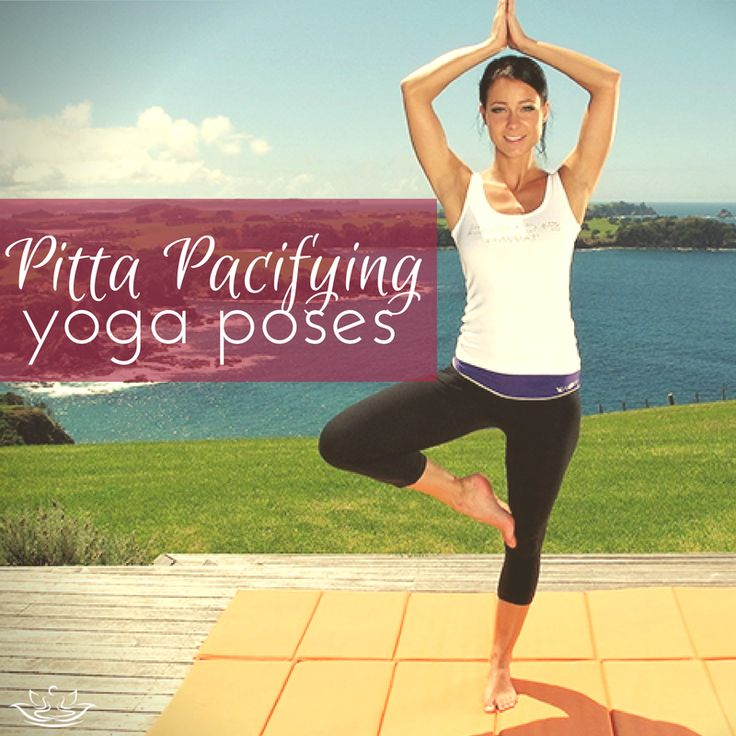 Tree pose, half shoulder stand, child's pose, corpse pose, seated forward bend