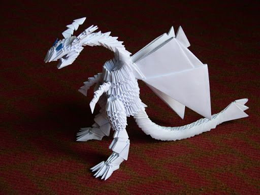 Дракон из модулей схема фото 396