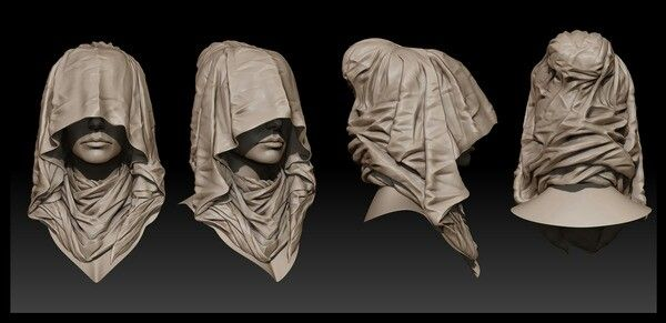 Veiled woman study by jsun