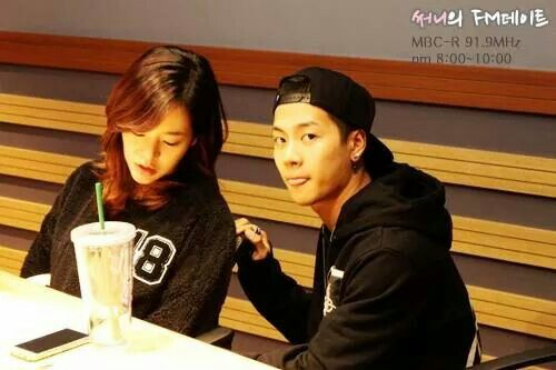 SBS Roommate | Jackson and Sunny | Sunny's FM Date radio program 11.04.2014