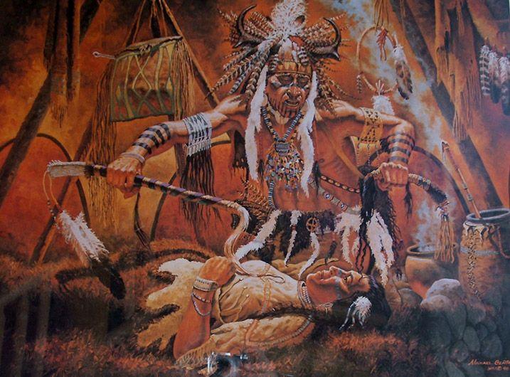 Mythologie amérindienne : transformeur