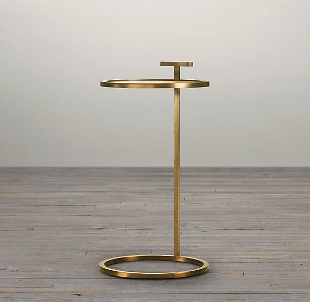 Did someone say, Martini? Obesessed with this side table in solid brass. Martini Side Table Brass