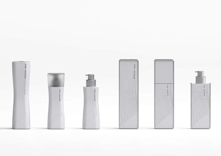 Vidal Sassoon Packaging | Front View