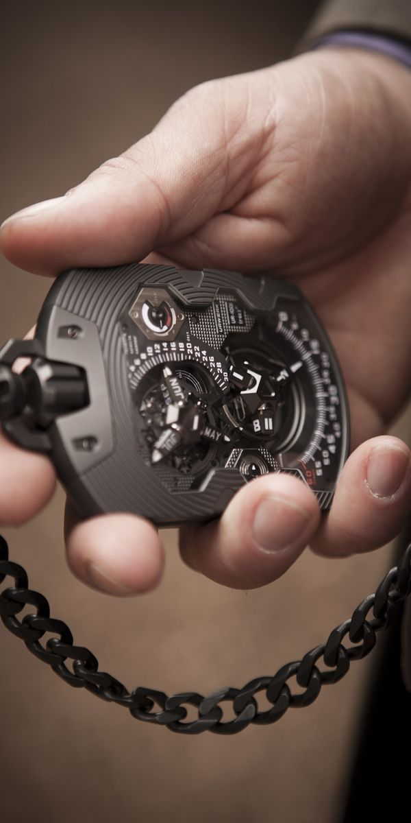 My second favorite pocket watch that I've seen.