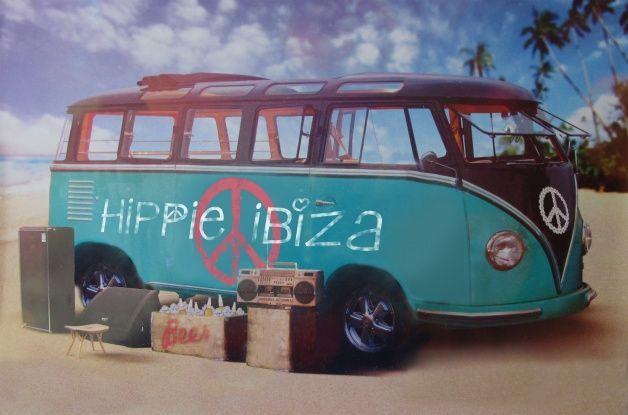 Retro Volkswagen busje huren op Ibiza