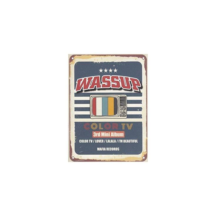 Wa$$Up - Color TV (CD), Pop Music