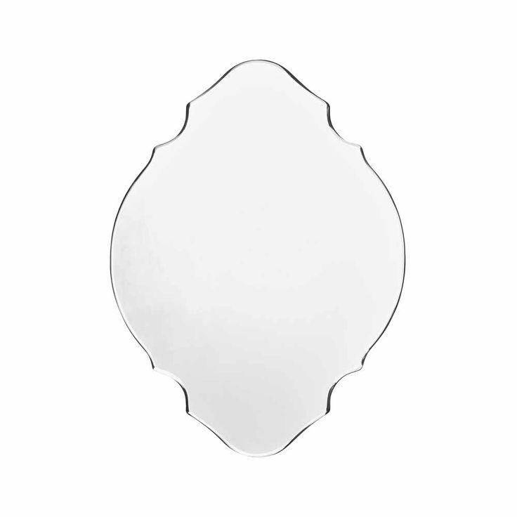 158 best spiegel images on pinterest for Wandspiegel rahmenlos