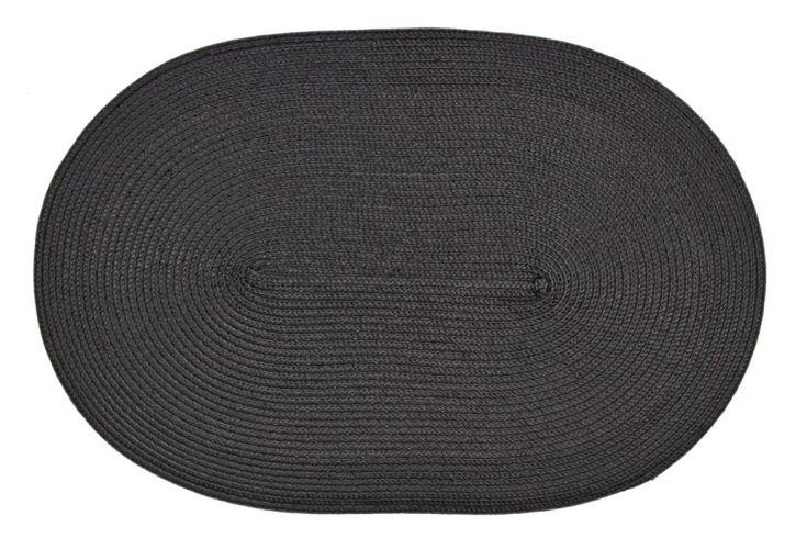 Černá podložka na stůl