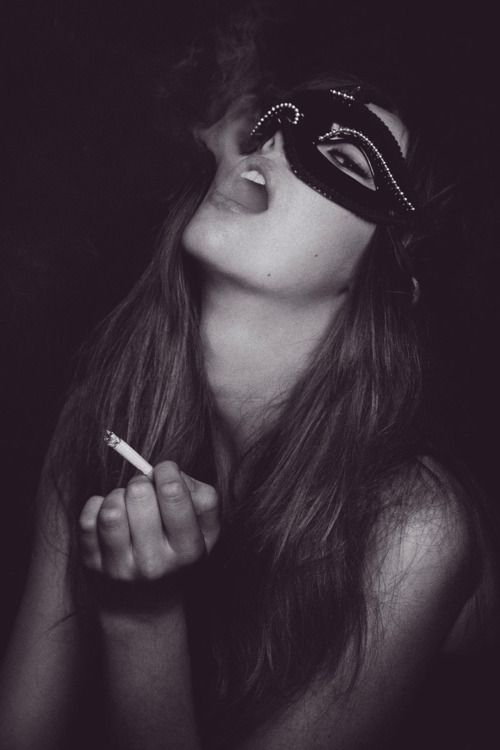 Nice she smoking masks