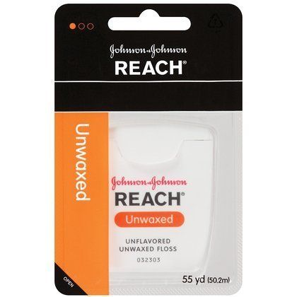 Reach Dental Floss-Unwaxed-55 yds. (Quantity of 9) by Reach. $29.95