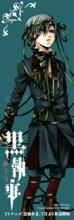 Ciel Phantomhive   Black Butler   Kuroshitsuji   ♤ #anime ♤