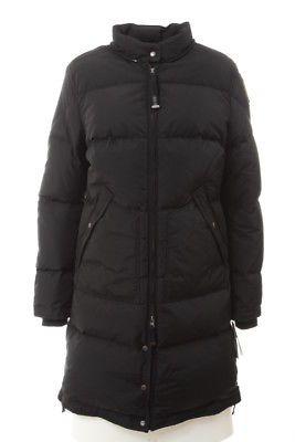 PARAJUMPERS $990 NEW Womens T1174 Black Long Parka Coat L