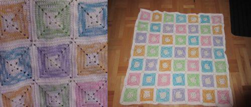 detská deka, Háčkovanie   Artmama.sk