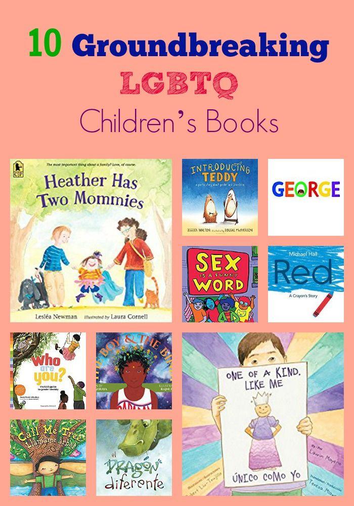 10 Groundbreaking LGBTQ Children's Books & GIVEAWAY. #KidLit #LGBT #LGBTQ #picturebooks