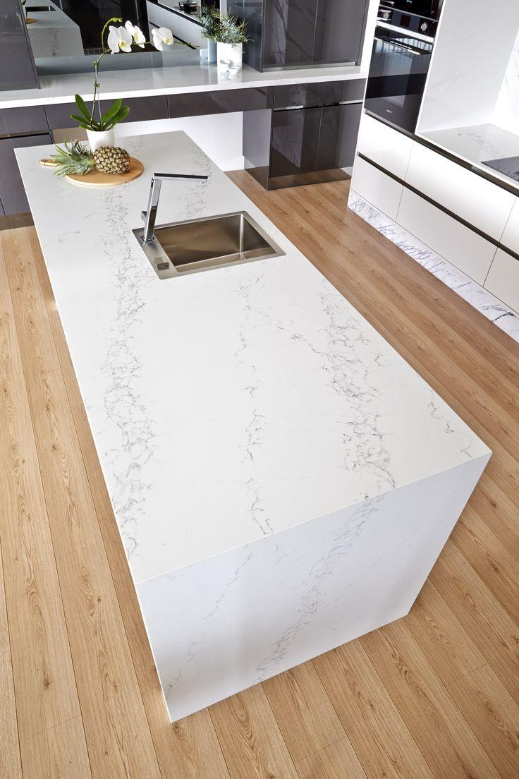 Is quartz considered a natural stone - Bq8628 Statuario Vicostone Quartz Countertops Interiordesigns Kitchen Remodel