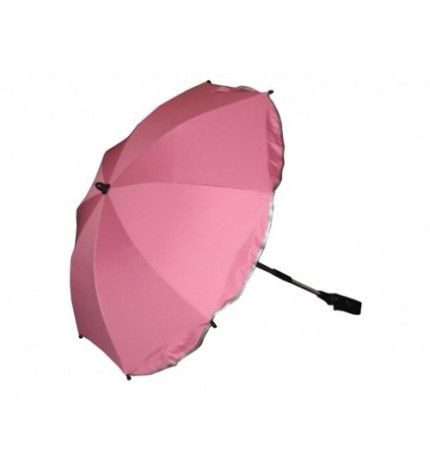 Parasolka do wózka z filtrem UV Kees jasny róż