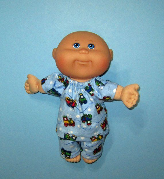 Cabbage Patch Newborn Surprise Doll Clothes Little Toy Trains Pajamas 10 Inch Doll Clothes Cabbage Patc Boy Doll Clothes Cabbage Patch Dolls Doll Clothes