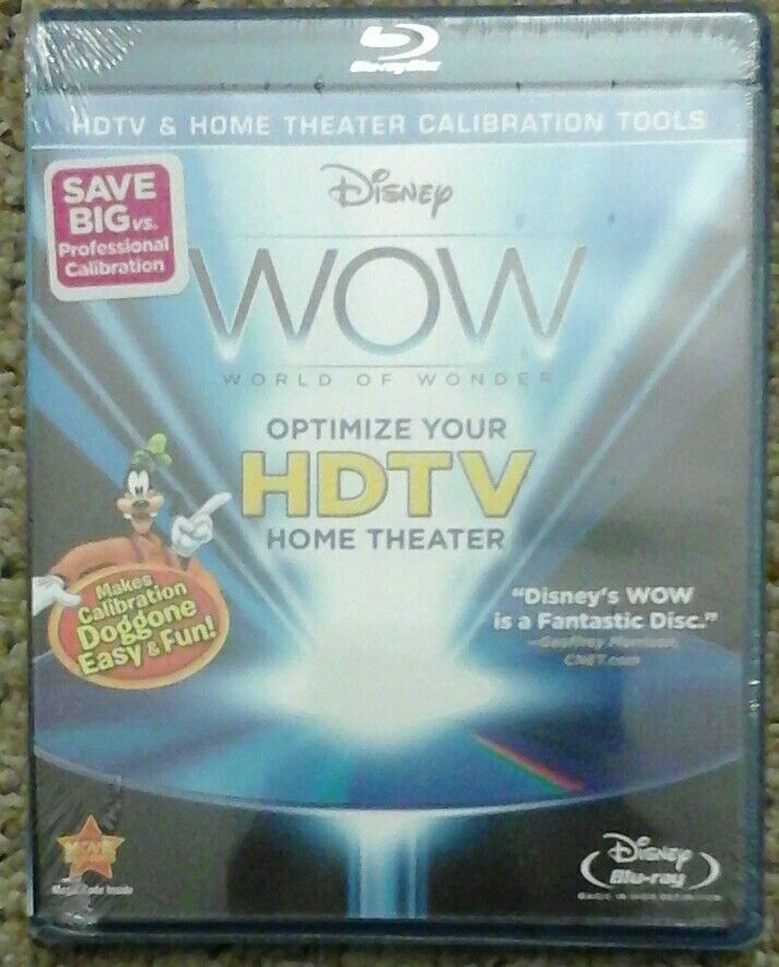 DISNEY WOW: World Of Wonder [Blu-ray], HDTV Home Theater Calibration. Brand New! | DVDs & Movies, DVDs & Blu-ray Discs | eBay!