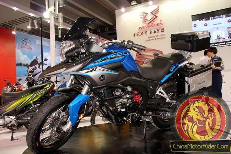 The NC250 powered Zongshen RX3 adventure touring motorcycle