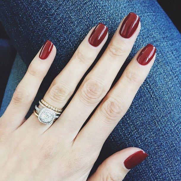 Ongles en gel: pour que vous puissiez vous épargner le salon de manucure – #das #dir #du #f …   – nails