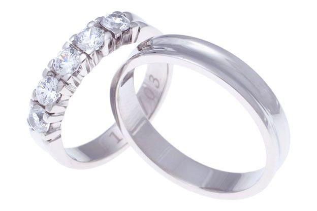 Snubní prsteny - model č. 199/03