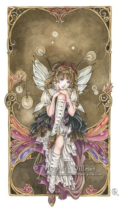 Steampunk Fairy Girl