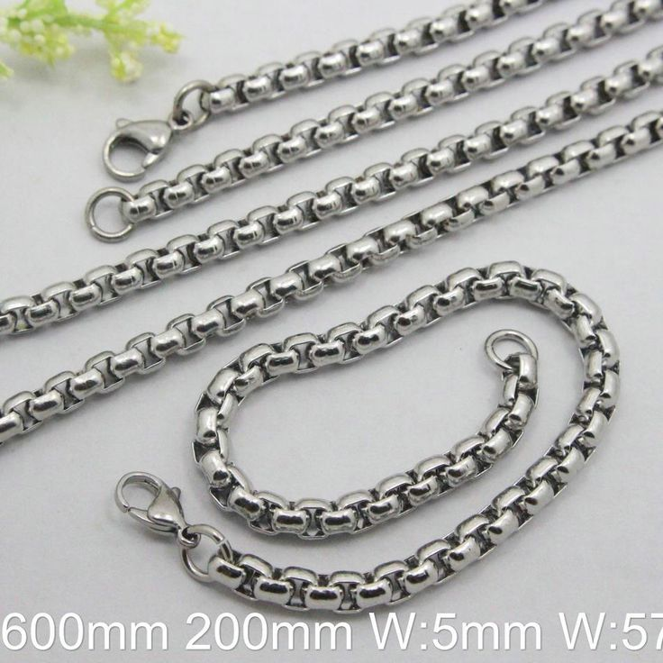 Find More Chain Necklaces Information about Hot Selling Wholesale Stainless Steel Jewelry Fashion  Silver Color  Vintage Bracelet Necklace,High Quality necklace plate,China jewelry box necklace Suppliers, Cheap necklace ruby from JOYAS STAINLESS STEEL JEWELRY on Aliexpress.com