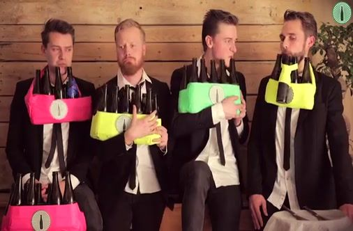 Four Guys Play Johnny Cash Classics On Some Very Unexpected Instruments