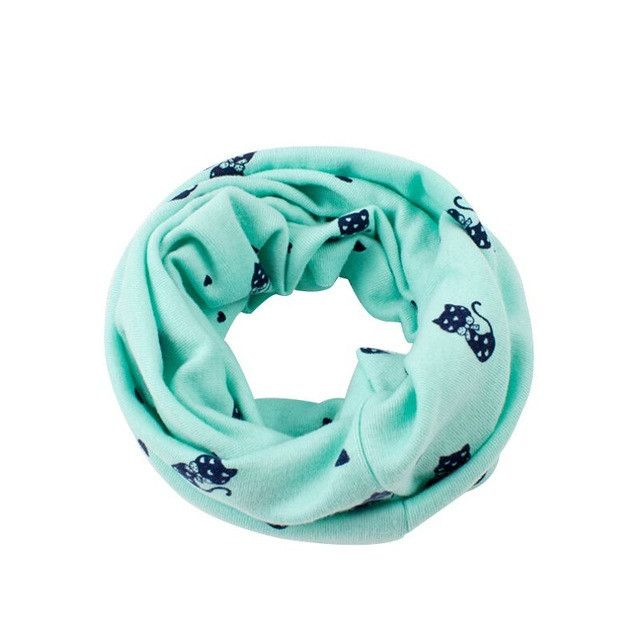Spring Autumn Children's Scarf Winter Baby Bibs Cute Scarves O Neck Lovely Kids Collars Child Ring Scarf nz17