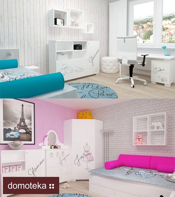 Fashion Mint i Fashion Pink to kolekcje stworzone z myślą o Tobie. Świat najlepszych projektantów  możesz przenieść do własnego pokoju. Do wyboru dwie opcje kolorystyczne  - zjawiskowy róż lub fantazyjna mięta. Meblik inspiruje.