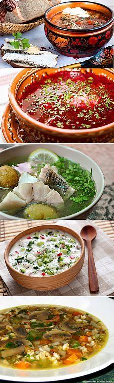 7 лучших супов русской национальной кухни
