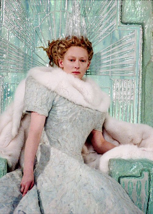Jadis, the White Witch - Tilda Swinton in The Chronicles of Narnia: The Lion, the Witch and the Wardrobe (2005).