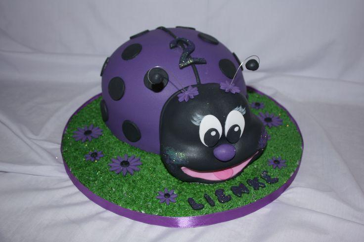 Lady Bug Cake - www.suikerbekkie.co.za