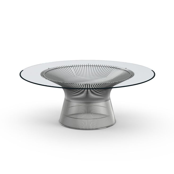 Warren platner coffee table products glass coffee for Warren platner coffee table