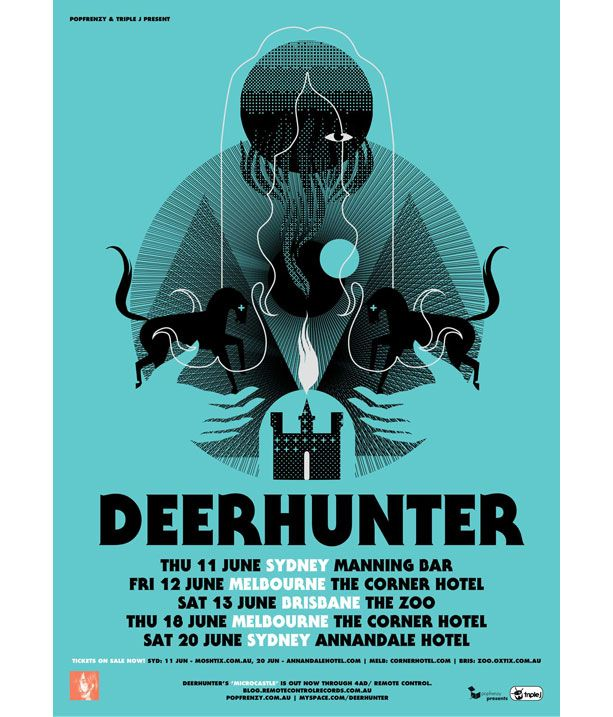 Deerhunter+band+poster