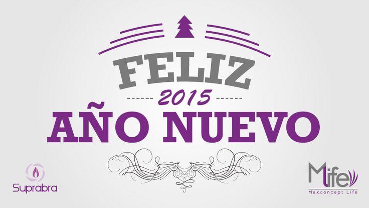 Un #FelizAño lleno de metas nuevas y mucha felicidad al rededor de tu familia y seres queridos.
