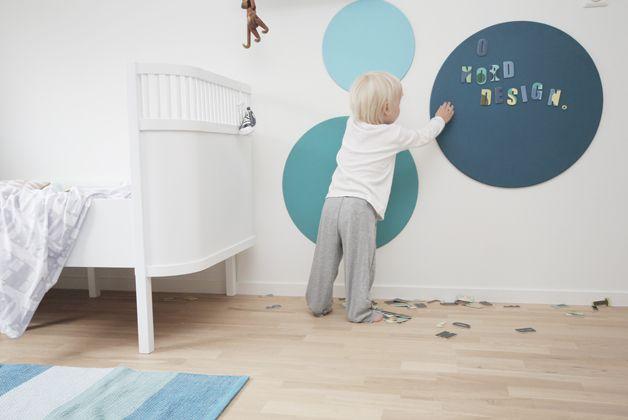 Inspirasjon veggdekor barnerom