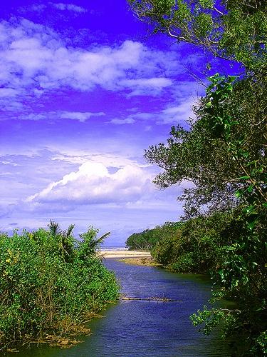 Triangulasi Beach, via Flickr.