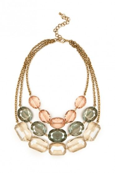 Sparkling Hues Necklace #jewels #jewelry #details