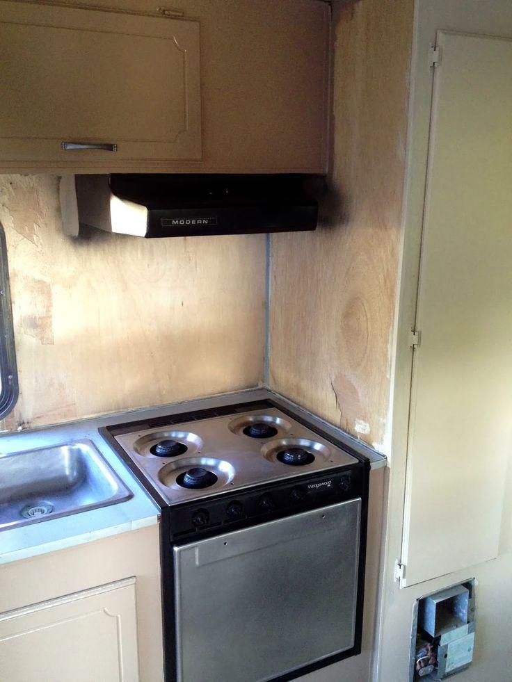 Paint The Oven Stove W Heat Resistant Paint Camper