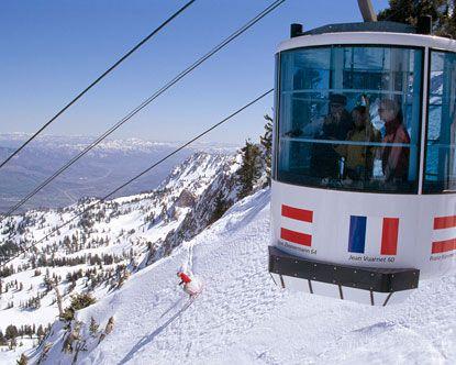 Snow Basin Ski Resort utah
