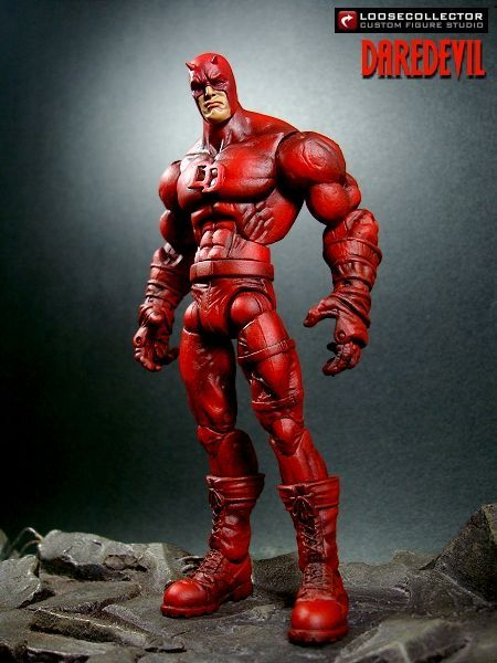 Daredevil (Stylized) Custom Action Figure