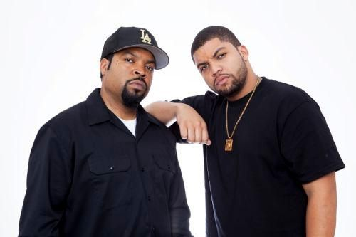 """""""I'd go around frowning for no reason,"""" O'Shea Jackson Jr. recalls about prepping to play his dad."""