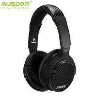 Ausdom M05 Wireless+ Wired Bluetooth 4.0+EDR Stereo with aptX Built-in Microphone for Music Streaming & Hands-free Calling
