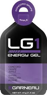 Louis Garneau Nutrition gels. No, this isn't something you wear but it will fit in the pocket of your LG tri jersey.  LG energy gels have met with overwhelmingly positive feedback from users. Worth a try!
