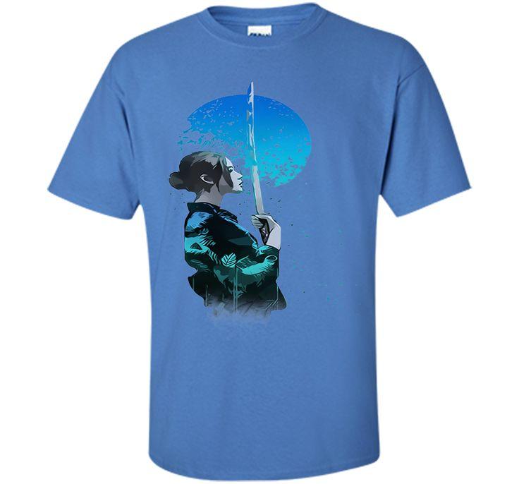 Attractive Blue Moon Samurai 2017 T Shirt
