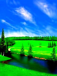 Download free green nature mobile wallpaper contributed by for Wallpaper mobile home walls