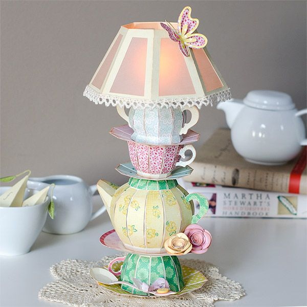 teapot-lamp-hero from SVGCuts.  Awesome looking lamp.  I'm going to try to create this one before summer is over.