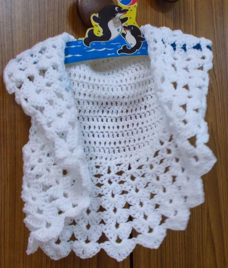 Sweet Nothings Crochet: ONE PIECE EASY BOLERO (child & adult sizes)