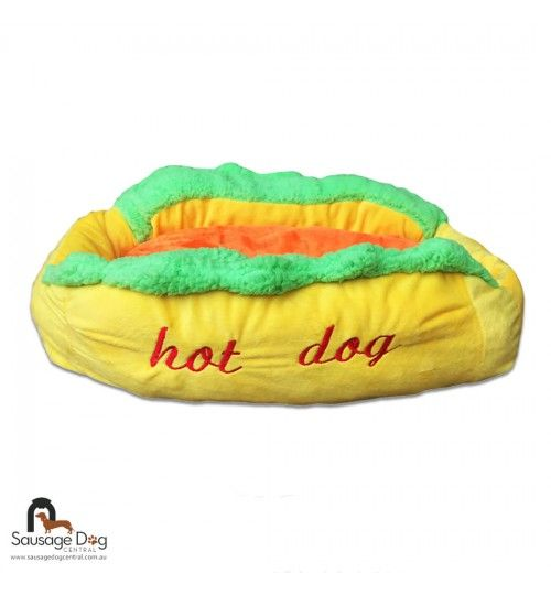 Let your dachshund chill out in the comfort of their own hot dog bed. Buy them one of our signature beds online today and spoil your sausage!